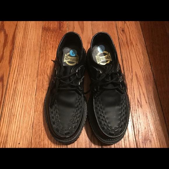1a77f8240f6 Demonia Shoes - Demonia 2 inch Creepers Size 6 1990s Goth Punk Ska